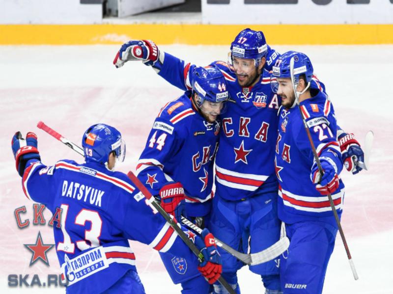СКА начал с победы серию с «Локомотивом»