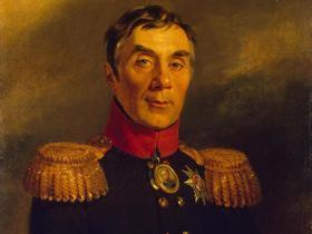 Фрагмент картины Джорджа Доу «Портрет Алексея Андреевича Аракчеева»