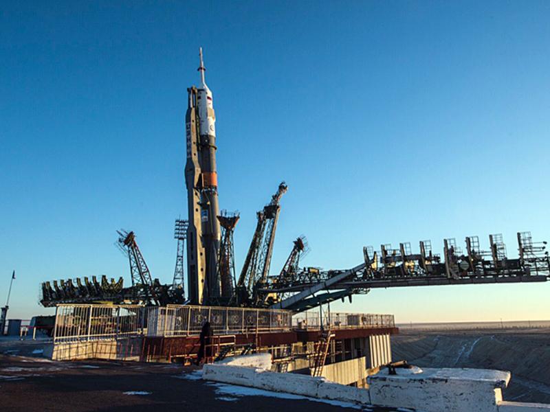 Ракета с кораблем «Союз» стартовала с Байконура к МКС