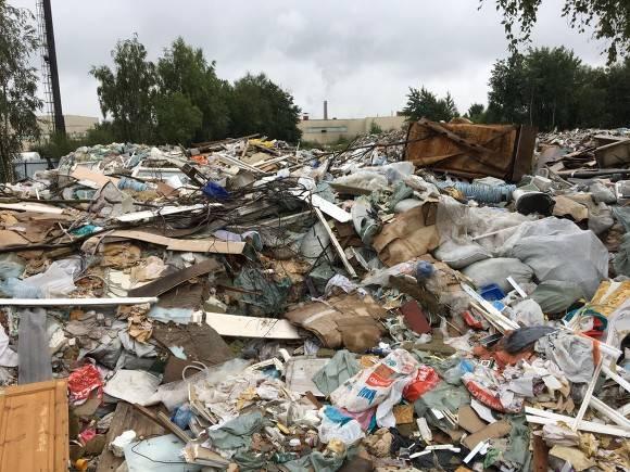 Жители Томска собирают подписи против строительства мусоросортировочного комплекса в черте города