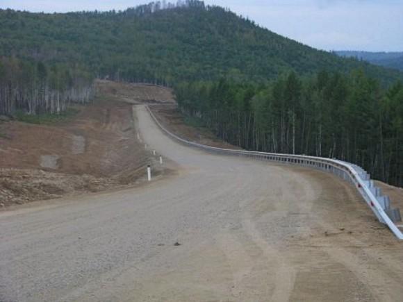 Нащебеночную дорогу вЗабайкалье потратили 633 млн руб. итри года