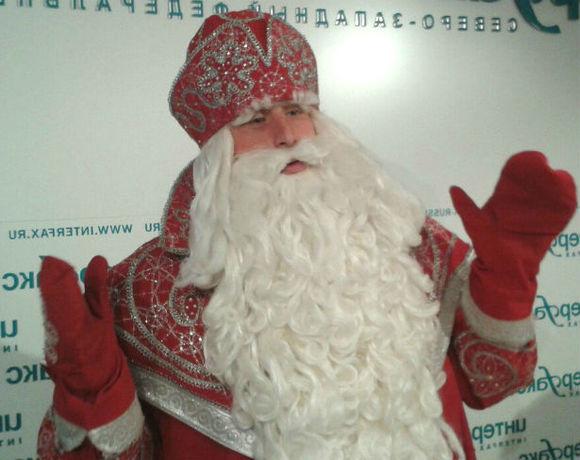 Посещение дедушкой Морозом изВеликого Устюга Рождественских книжных аллей