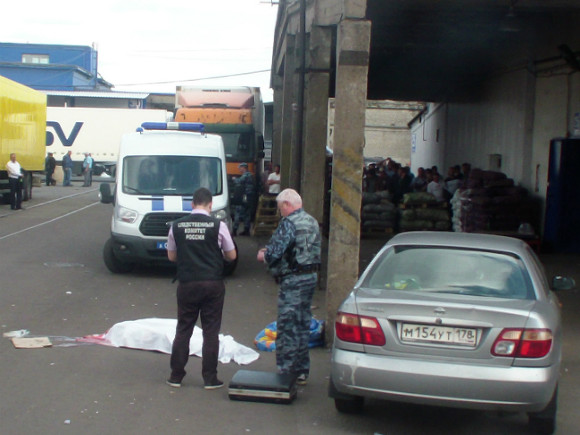 Схвачен мужчина, застреливший оппонента впроцессе конфликта наовощебазе вПетербурге