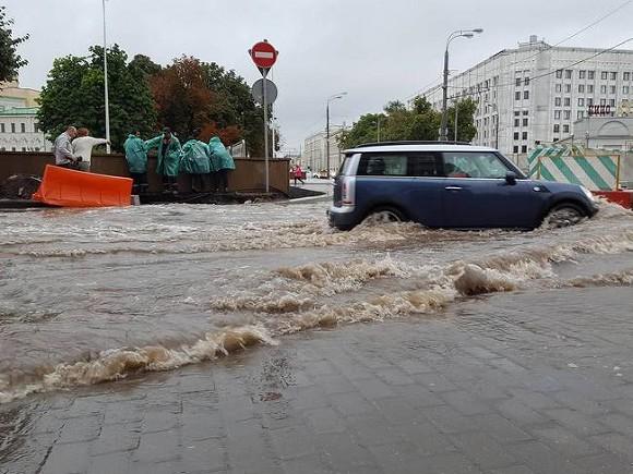 Встолице Дагестана засутки выпала месячная норма осадков