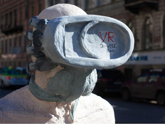Вцентре Петербурга возникла скульптура, приуроченная к интернет-зависимости
