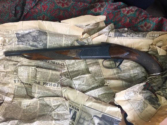 Ружье вквартире наШостаковича отыскали вгазете 1975 года