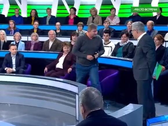 Ведущий НТВ: «Умоетесь кровавыми соплями»