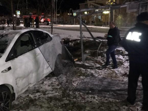 ВМясново шофёр Киа Rio сбил пешехода напереходе