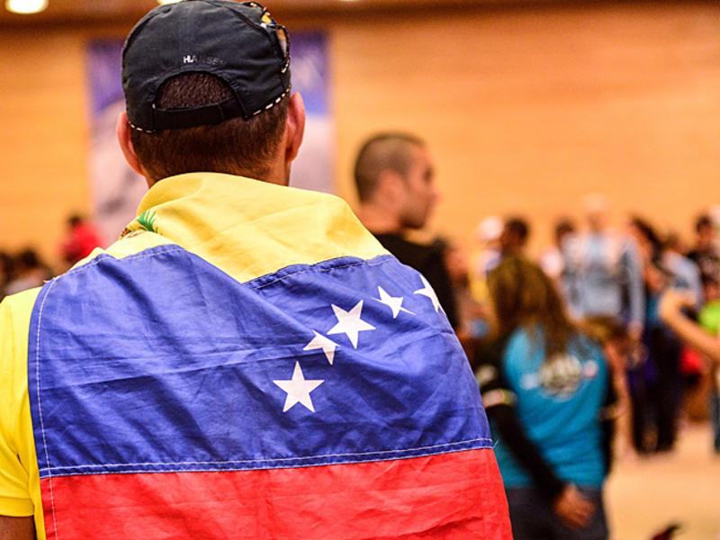 Жители Каракаса провели акцию протеста, требуя наладить водоснабжение
