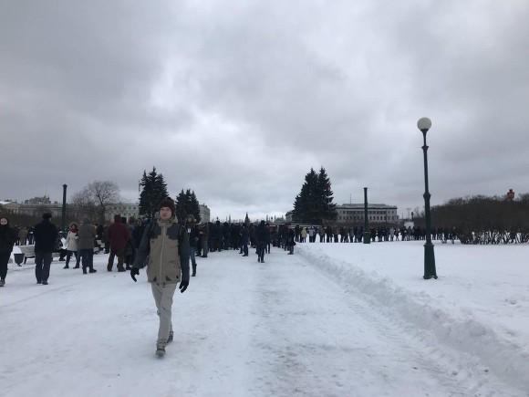 ВПетербурге Навального поддержали рекордные 1800 избирателей