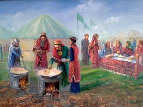 Фото туркменского общества «Микан»