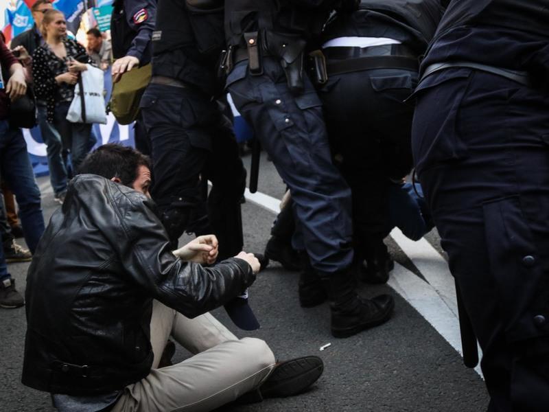 ОВД-Инфо: На марше в Москве задержали более 500 человек