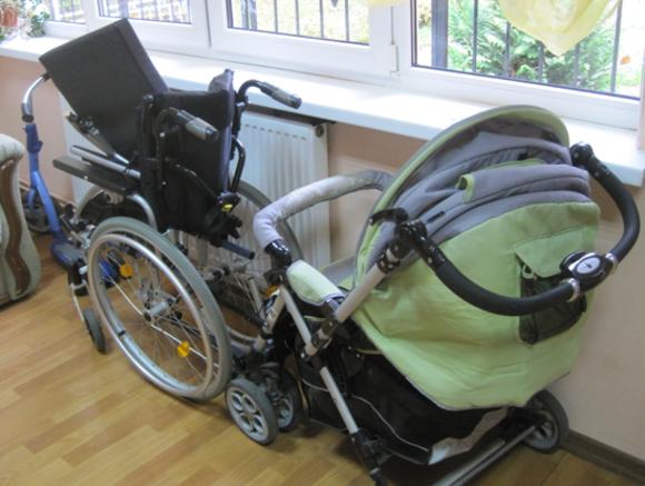 Проект Рука помощи в Петербурге будет помогать родителям детей-инвалидов