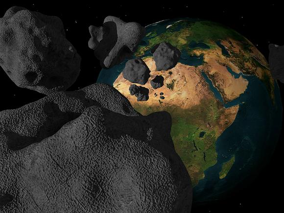 Японские роботы прислали фотографии с астероида Рюгу