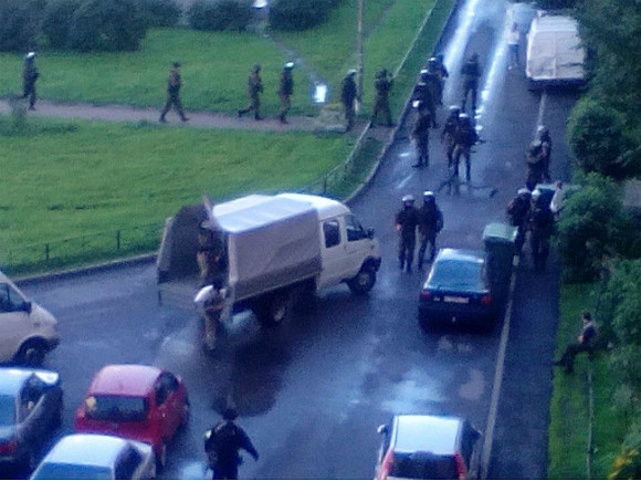Фото очевидца из группы «ДТП и ЧП | Санкт-Петербург | Питер Онлайн»