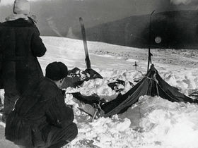 Фото спасателя Вадима Брусницына, 1959 г. <a href=http://commons.wikimedia.org>Wikimedia.org</a>