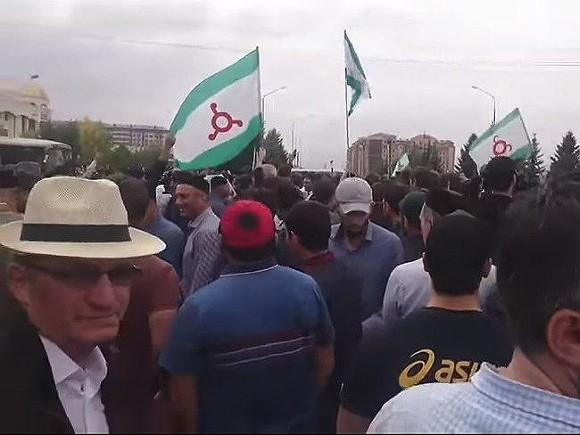 В Ингушетии оппозиция готовит новый митинг по вопросу об изменении границы с Чечней