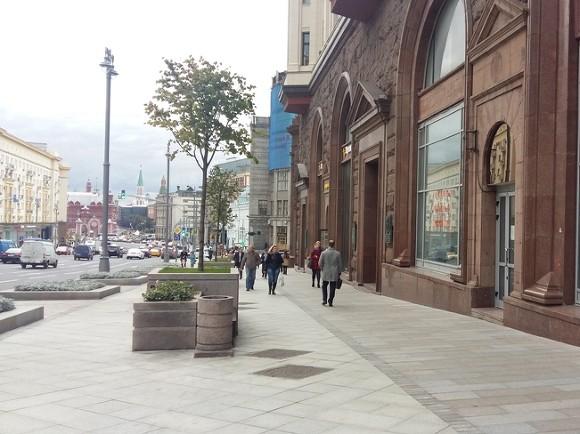 Ограничение движения поТверской улице, всвязи свысадкой лип