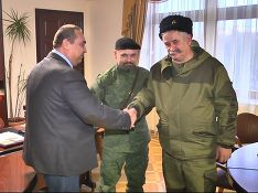 "Стоп-кадр видео, Пресс-центр ""Новороссия"""