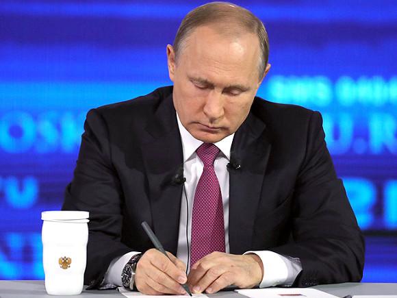 Путин выступил завозвращение вшколы трудового обучения