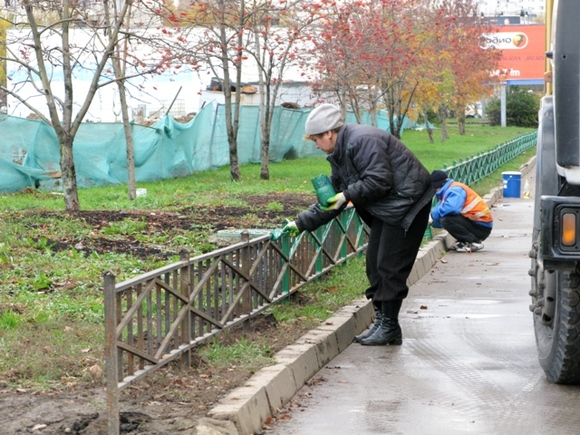 ВДень знаний петербуржец похитил забор детского сада