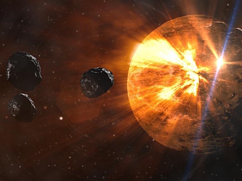 К Земле мчится «комета смерти»