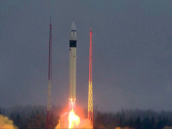Cкосмодрома «Плесецк» удачно стартовала ракета-носитель «Рокот»
