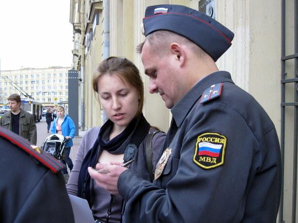 Ворловском штабе Алексея Навального полицейские изъяли агитматериалы