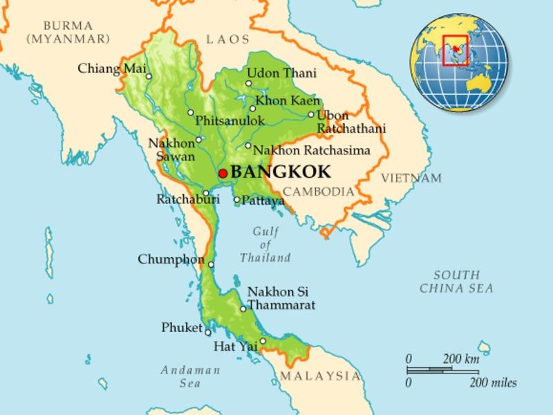 В Таиланде поймали заключенных, сбежавших два дня назад из здания суда