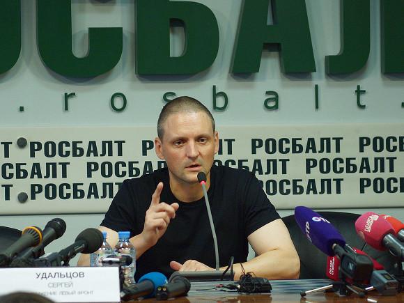 Лидер «Левого фронта» Сергей Удальцов рассказал одопросе вСК