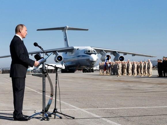 Путину оповестили обуничтожении неменее 32 тыс. боевиков вСирии