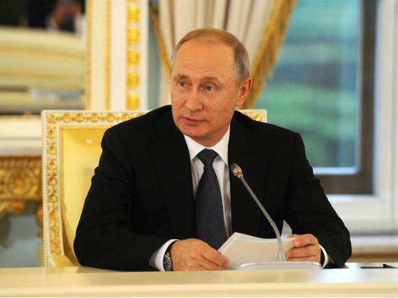 Российская Федерация желает видеть вУкраинском государстве доброго соседа— Путин