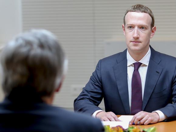 Основатель Facebook потерял почти $17 млрд