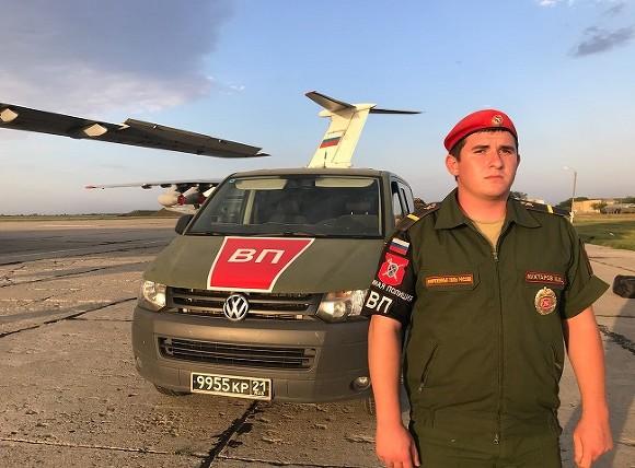 Военнослужащие военной полиции ЮВО вернулись из Сирии
