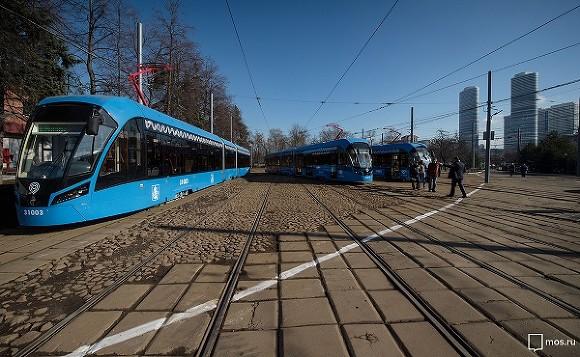 «Мосгортранс» запустит «Зеленую волну» трамваев по столице