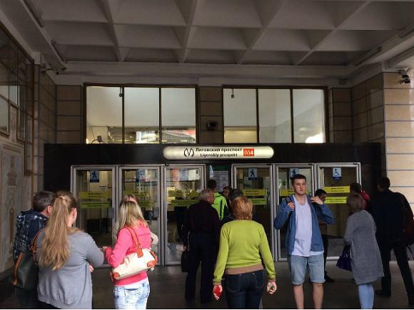 Правоохранители проверяют метро «Лиговский проспект»