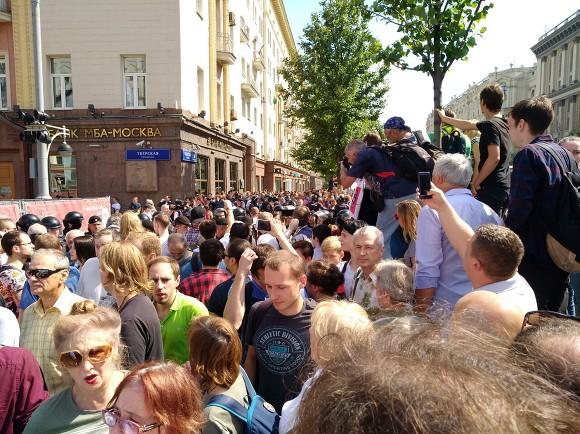 Московский метрополитен решил судиться с оппозиционерами