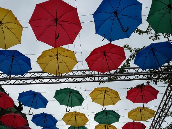 Всубботу вгороде наНеве откроется Аллея парящих зонтиков