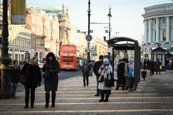 НаНевском иМосковском проспекте должны появиться 100 «умных остановок»