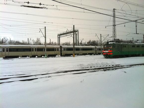 Поезд «Невский Экспресс» остановился попути вПетербург из-за неисправности