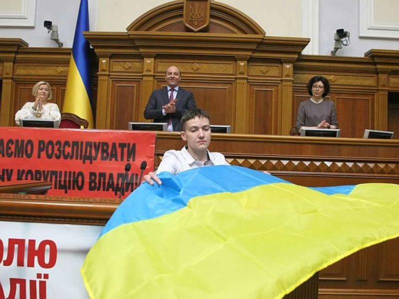 Савченко сравнила, в какой тюрьме хуже: российской или украинской