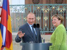 Меркель заявила об отсутствии условий для смягчения санкций против России