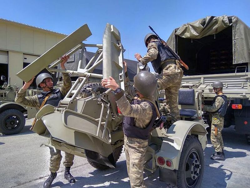 Азербааджйнские военные в ходе учений проведут танковый прорыв обороны противника
