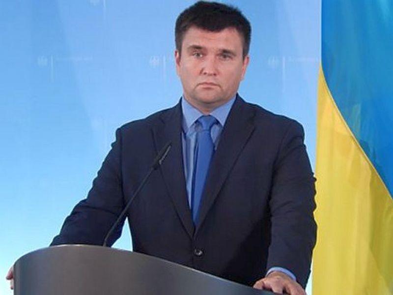 Климкин открестился от предложения ввести санкции против Шредера