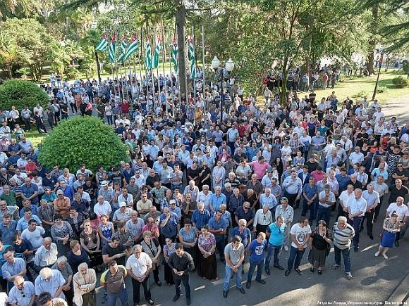 Президент Абхазии назвал условия отставки