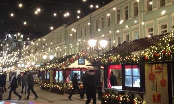 Москвичей предупредили о грядущих новогодних морозах