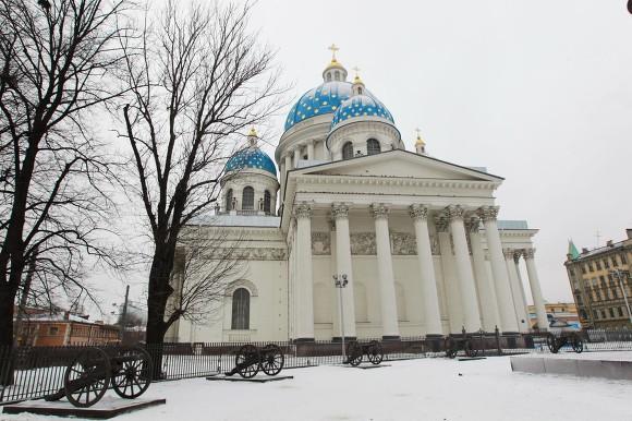 Нареставрацию Троицкого храма потрачено около 1 млрд руб.