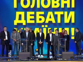 Зеленский и Порошенко: «Седой лев» против «Гайморитного енота»
