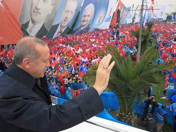 Эрдоган: США закончили  быть посредником вконфликтах наБлижнем Востоке