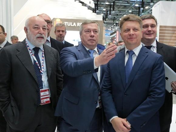 Ростовская область заключила соглашения насумму 20,7млрдруб. вСочи